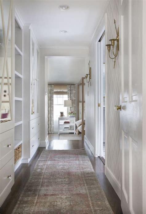 hallway built ins transitional entrancefoyer erin