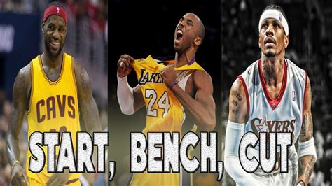start bench start bench cut nba edition