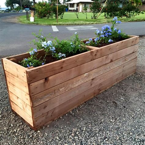 diy planter box diy pallet planter boxes pallet furniture