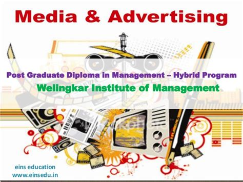 Mba In Welingkar Institute Of Management by Distance Learning Mba In Media Advertising From Eins