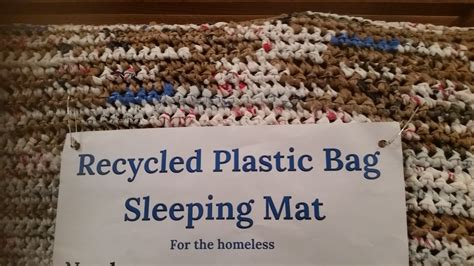 Mats From Plastic Bags - plastic bag mats for homeless trend bags