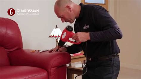 repair  tear   leather sofa guardsman  home care repair youtube