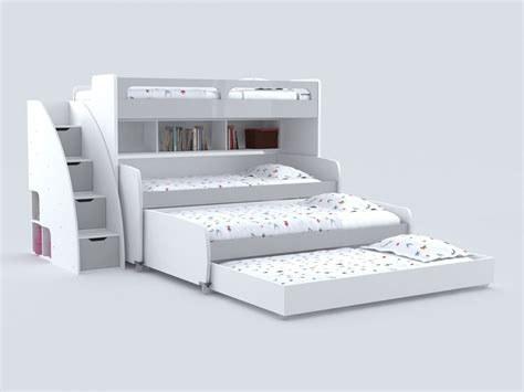 double bunk bed with sofa twin size bunk bed for 4 with sofa