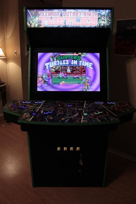 Custom 3d Print Iphonesamsungzenfonexiaomi Tmnt 30 custom tmnt arcade cabinet has joysticks with 3d printed turtle heads gizmodo australia