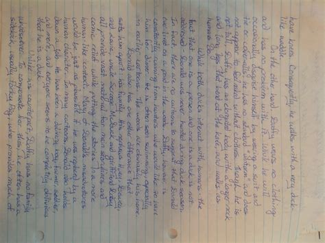 english ii essay compare and contrast