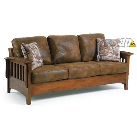 Mission Style Sofa Leather The World S Catalog Of Ideas
