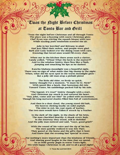 twas the night before christmas full poem