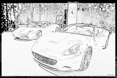 Coloriage 224 Imprimer V 233 Hicules Voiture Ferrari Coloriage Imprimer Vehicules Voiture Mercedes Benz L