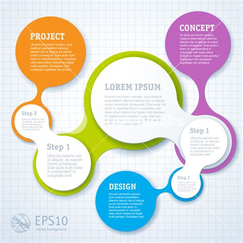 infographic design template simply minimal infographic template design vector