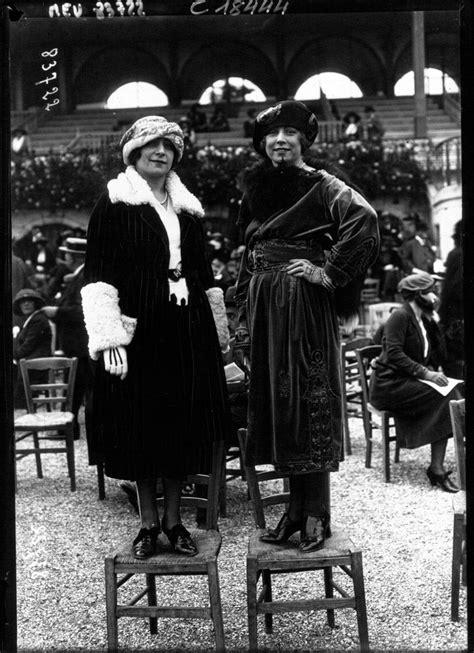 La mode à Longchamp de 1910 à 1920