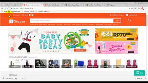 toko online gratis indihome cara membuat toko online gratis di shopee youtube