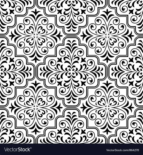 arabesque pattern ai arabesque seamless pattern vector art download