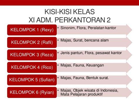 Administrasi Pajak Smkmak Kelas Xi K2013 materi teks pantun bahasa indonesia kelas xi k13