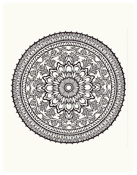 mandala muses a highly detailed coloring book books idea for painted table template mandala painted