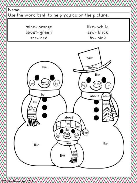 number words coloring page free coloring pages of sight words