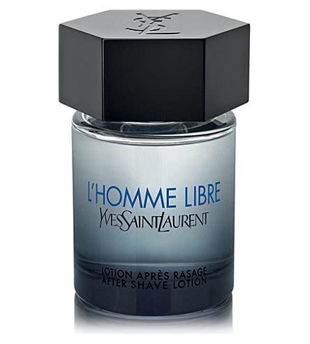 shop yves saint laurent lhomme libre aftershave for men yves saint laurent l homme libre aftershave lotion 100ml