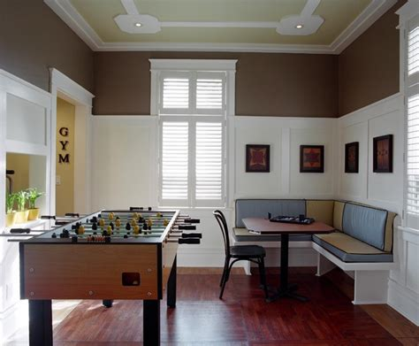 How To Paint Over Wood Paneling 10 Game Rooms That Play Nice Apartment Therapy