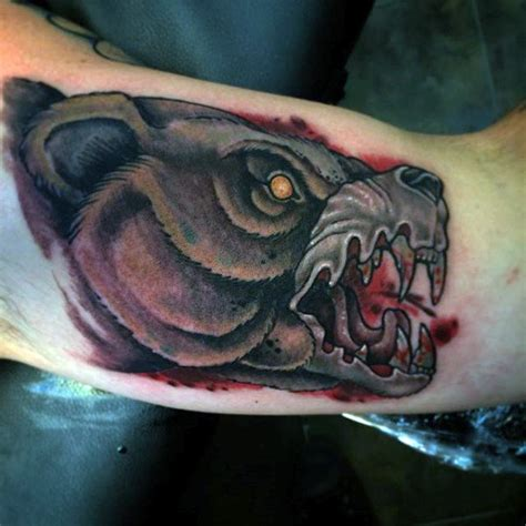 simple bear tattoo 63 impressive tattoos designs that blend your mind