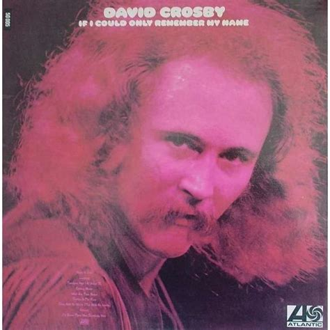david crosby zoon if i could only remember my name de david crosby double