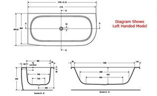 Bath Shower Sizes Standard Bath Tub Dimensions