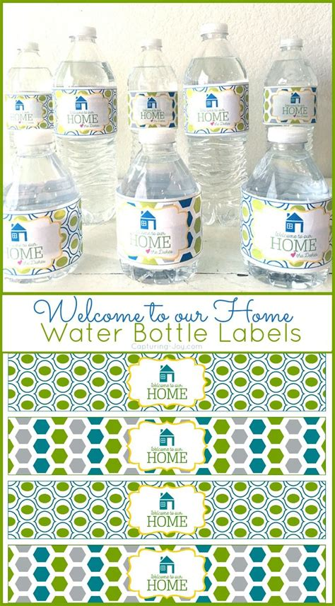 diy water bottle chrismast craft picture welcome to our home water bottle label all time favorite crafts diy water