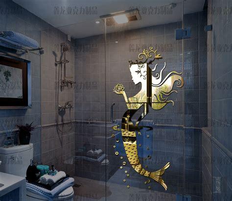 Mermaid Bathroom by Get Cheap Mirror Glass Tile Aliexpress