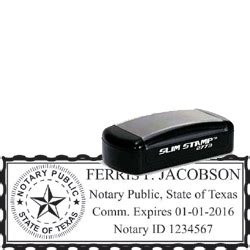 notary rubber st notary pocket st 2773 thestmaker