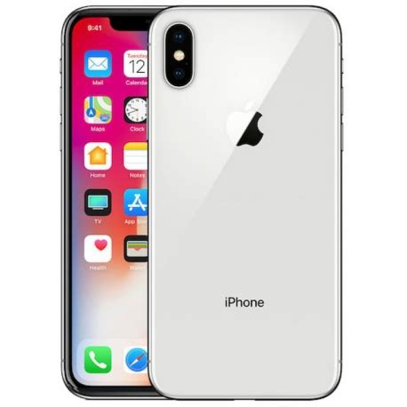 on iphone x apple iphone x 256gb plata