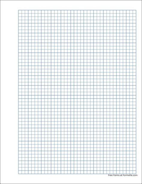 printable mm graph paper pdf free punchable graph paper 5 millimeter solid blue from