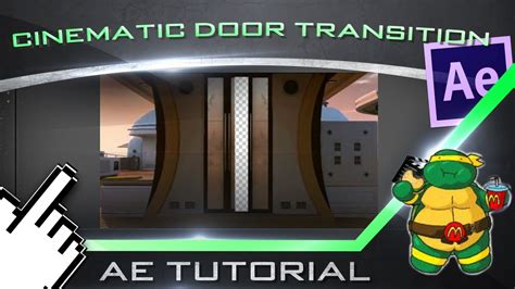 tutorial after effect cinematic cinematic door transition after effects tutorial youtube