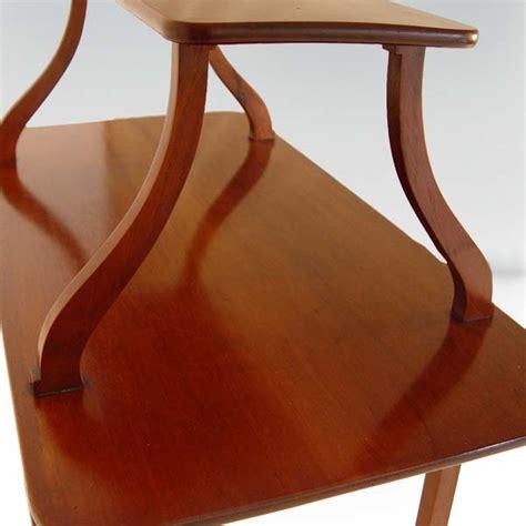 Top Shelf Books Pasadena Tx by Vintage Two Tier Entrance Table Desk Mahogany Ebay