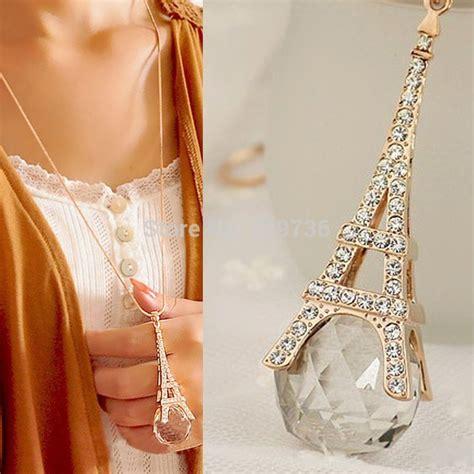 Fashion Eiffel Tower Necklace brand fashion eiffel tower necklace