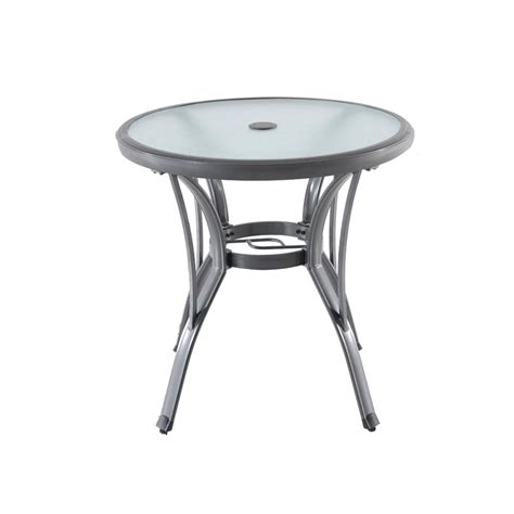 Nantucket Bistro Table 100 Hton Bay Nantucket Metal Outdoor Hton Bay Belcourt Metal Square Outdoor Bistro Table