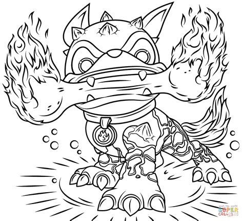 eye brawl skylander coloring page reward eye brawl coloring page swarm skylander s pages
