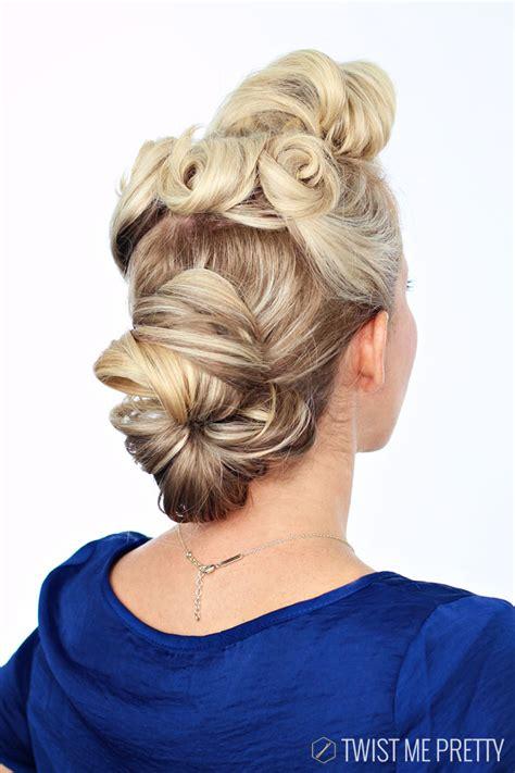 pin  girl hairstyle tutorial twist  pretty