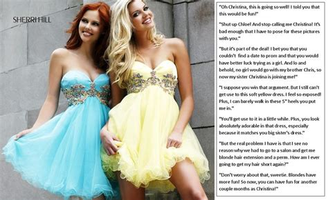 boy becomes sissy girl caption 1000 images about dresses on pinterest homecoming
