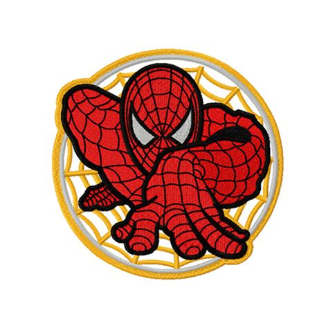 embroidery design shop spider man embroidery design instant download