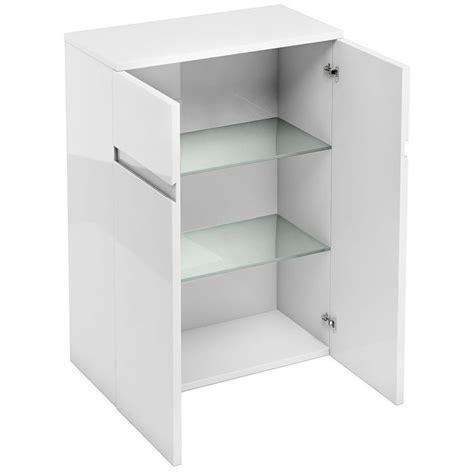 Bathroom Door Furniture Britton Aqua Cabinets D30 White 600mm Floor Standing Door Unit D33w