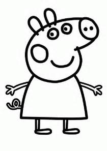 peppa pig coloring pages coloringpagesabc - Peppa Pig Coloring Page