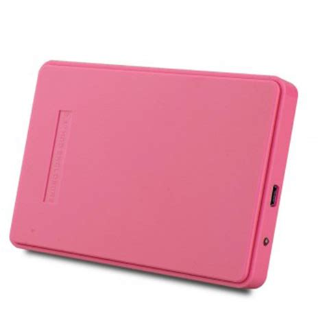 Hdd Portable noyokere pink external enclosure for drive disk usb 2