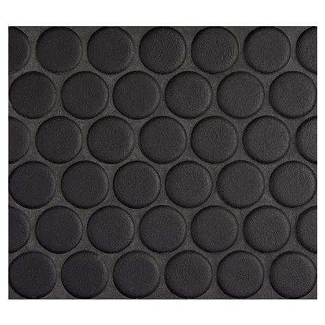 Penny Round Mosaic Midnight Black Matte Complete