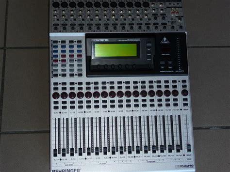Mixer Digital Behringer Ddx3216 behringer ddx3216 image 273047 audiofanzine