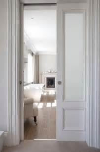 Bathroom Closet Door Ideas bathroom door a pocket door reveals a stunning bathroom complete with