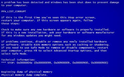 wallpaper blue screen of death blue screen wallpaper wallpapersafari