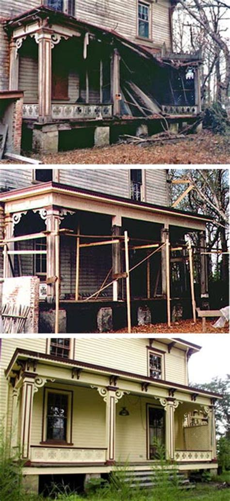 Preservation Brief 45 Preserving Historic Wood Porches 1800 House Plans For Rebuilding