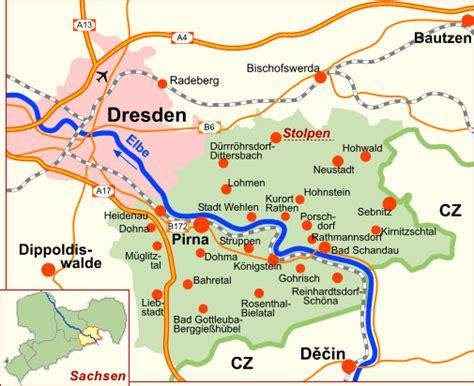 Motorrad Tourenplaner S Chsische Schweiz by Stolpen Geografische Lage Karte Routenplaner
