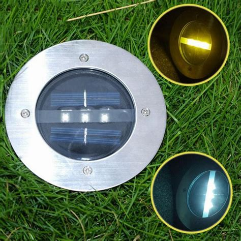 Outdoor Ground Lights 10pcs Outdoor Ground Spot Led Light Garden Path Floor Underground Buried Yard L Spot