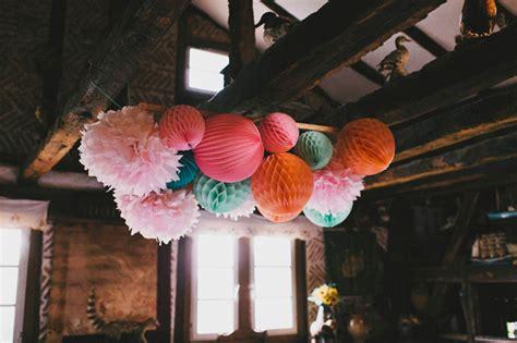 Honeycomb 20cm Orange By Oh Prep paper lanterns with a pop sous le lion lantern and