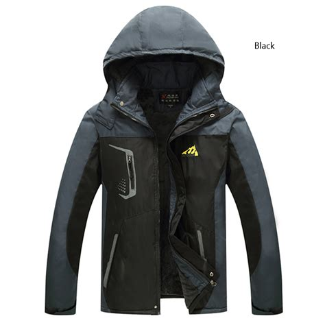 Jaket Windbreaker Cozmeed G Big Size plus size mens waterproof jacket hiking jacket windproof