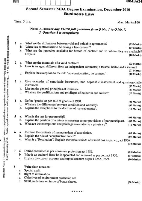 Vtu Mba Question Papers Free by Visvesvaraya Technological Management 2010